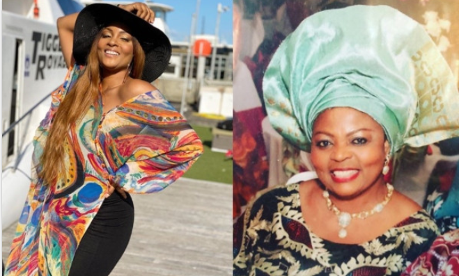 Actress, Osas Ighodaro loses mom 1