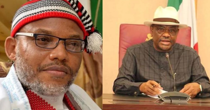 Photo of Nnamdi Kanu threatens Wike over Obigbo killings