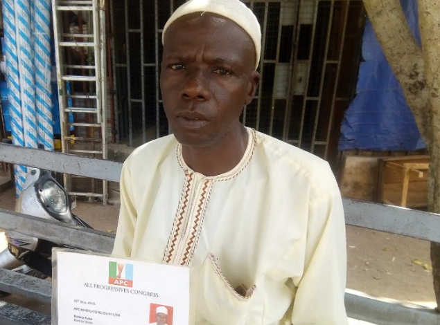 Man who trekked to celebrate Buhari's victory in 2015, develops severe limb pain, cries out for help 1