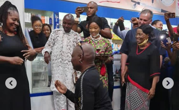 Charly Boy proposes to his Wife for the 4th time after 45 Years of Marriage 7