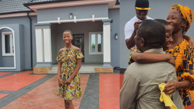 Photo of Kid comedienne, Emmmanuella gifts her mother a new house (Photos)