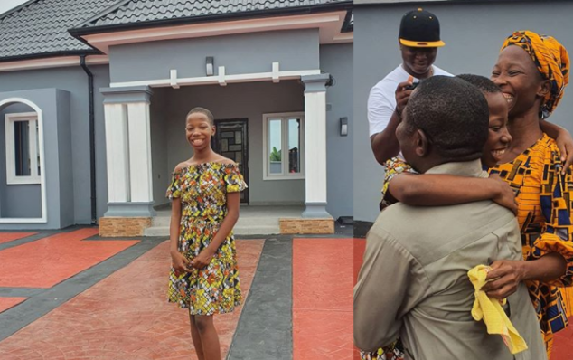 Kid comedienne, Emmmanuella gifts her mother a new house (Photos) 9