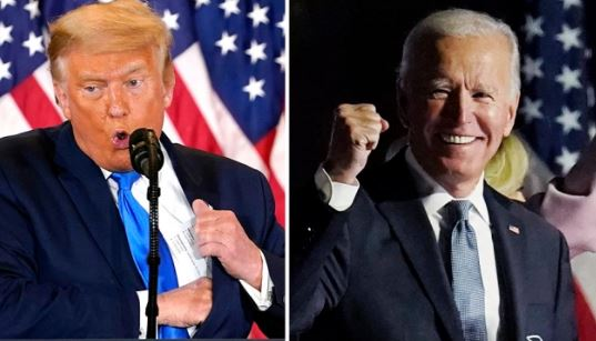 Trump says Biden won but he won't concede even as Judges continue to throw out cases over lack of fraud evidence 1