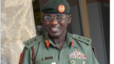 Photo of I was nearly retired by Obasanjo as Major — Buratai