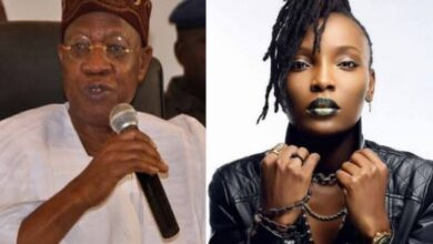 """Photo of #EndSARS: """"Who is she fronting for? Who are her sponsors?""""- Lai Mohammed tackles DJ Switch"""