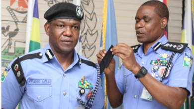 Photo of Police spokesperson, Frank Mba promoted to the rank of Commissioner of Police (photos)