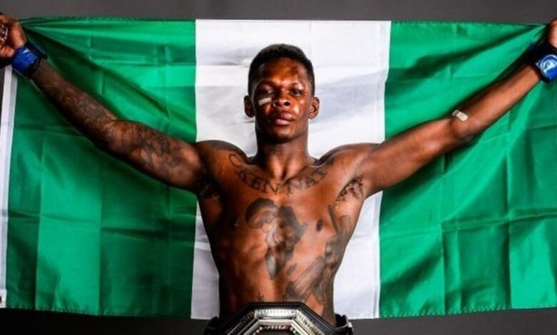 Photo of Half of you are just waiting to see me crash – MMA fighter, Israel Adesanya slams fake fans as he hits 4 million followers on IG