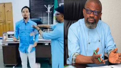 Photo of Update: Abia state Governor suspends his Chief of Staff for spraying Odumeje Indaboski, money in the office