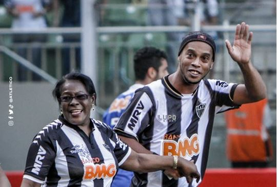 Photo of Football star, Ronaldinho's mother dies aged 71 after contracting Covid-19