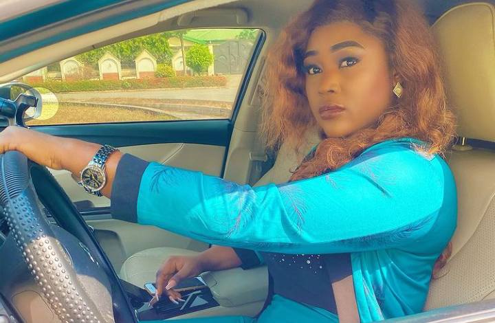 Photo of All pastors are fraudsters in my book- Actress Iheme Nancy