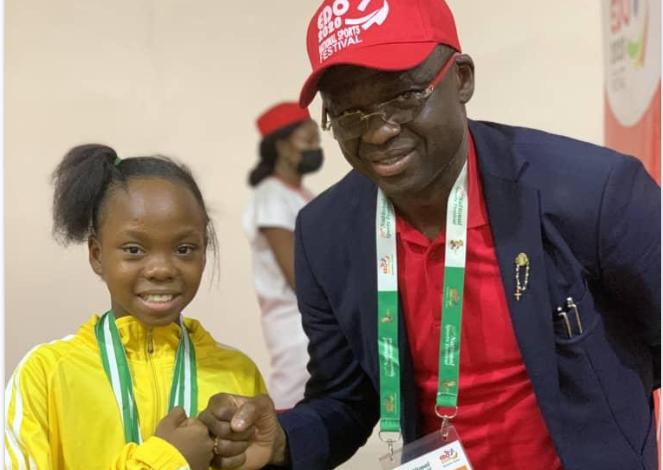 Photo of 10 Year Old Stephanie Onusiriuka wins Best Overall Gymnast in Nigeria (photos)