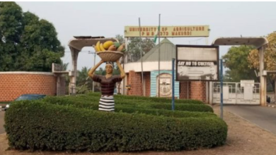 Photo of Benue University Students abducted on Campus