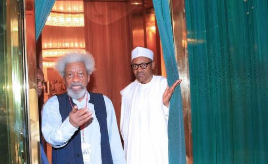Photo of 'Nigeria is at war, seek help, youths should not serve as ritual offering on the altar of a failing state' – Wole Soyinka tells Buhari