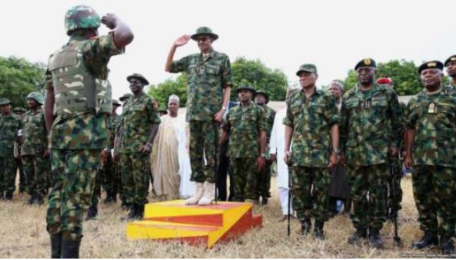 Military rejects call to take over power, declares loyalty to Buhari 1