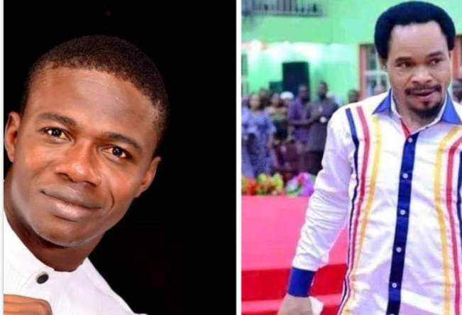Pastor challenges Odumeje to a spiritual battle, invites the public to come and watch 3