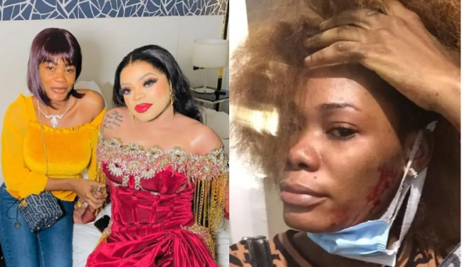 """Photo of """"You want to be a girl so badly but your di*k is still under you"""" – Ivorian fan accuses Bobrisky of assaulting her"""