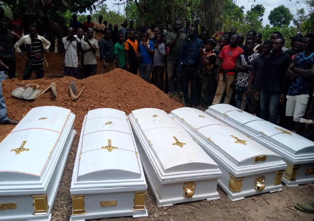 Photo of Victims of herdsmen attacks buried in Benue