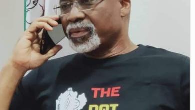 Photo of Senator Abaribe rocks 'The Dot Nation' T-shirt [photo]