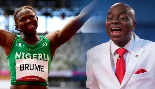 Photo of Reno Omokri tackles Nigerians who are against Olympic medalist, Ese Brume's decision to drape her medal on Bishop Oyedepo