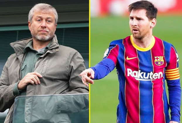Photo of Chelsea owner, Roman Abramovich 'requests urgent meeting with Lionel Messi's reps over transfer'