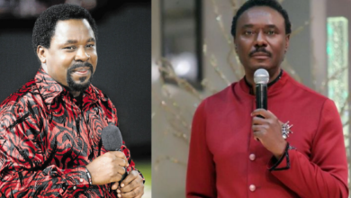 """Photo of """"He is a magician, a sorcerer and calls himself a prophet"""" – Rev Chris Okotie criticises late T.B Joshua in new video"""
