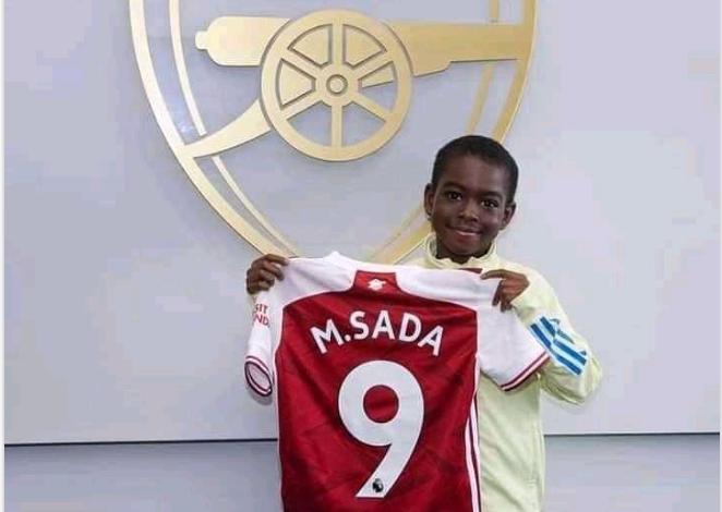 Photo of Arsenal sign 9-Year-old Nigerian boy from Kaduna (photos)